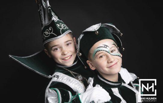 Jeugdprins Damien I & hofnar Lorenzo - 2019