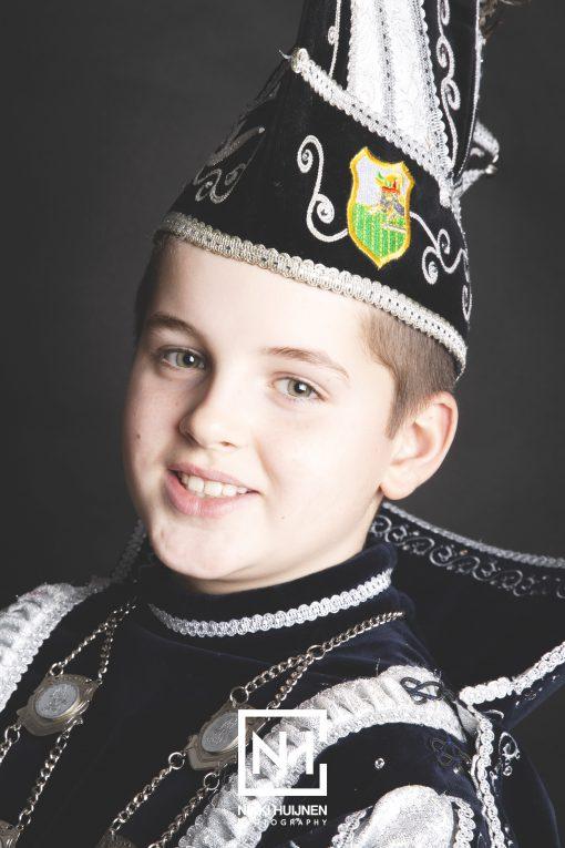 16 februari receptie         Prins Loek I & Hofnar Joep